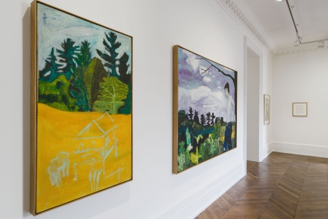 Peter Doig, Early Works, London, 2014, Installation Image 9