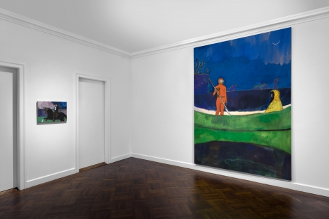 Peter Doig, New York, 2015, Installation Image 16