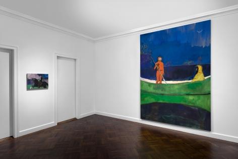 Peter Doig, New York, 2015, Installation Image 16