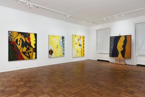 ERNST WILHELM NAY, Paintings, New York, 2012, Installation Image 4