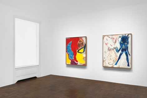Don Van Vliet, Parapliers the Willow Dipped, Paintings 1967-1997, New York, 2020, Installation Image 5
