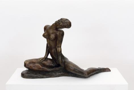 """Wilhelm Lehmbruck, """"Sitzendes Mädchen (Seated Girl)"""""""