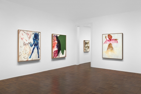 Don Van Vliet, Parapliers the Willow Dipped, Paintings 1967-1997, New York, 2020, Installation Image 7