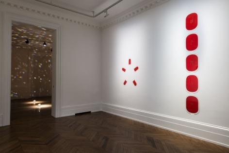JAMES LEE BYARS, The Diamond Floor, London, 2015, Installation Image 1