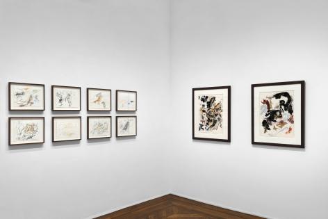 Don Van Vliet, Works on Paper, New York, 2017, Installation Image 15