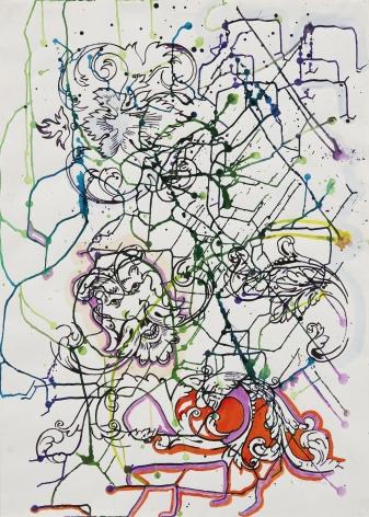 """Sigmar Polke """"Untitled"""", 1987"""