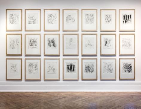 Georg Baselitz, 1977 - 1992, London, 2017, Installation Image 4