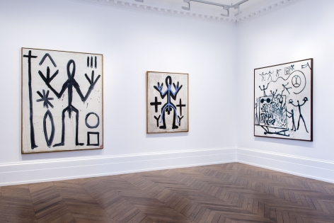 A.R. PENCK, Early Works, London, 2015, Installation Image 9