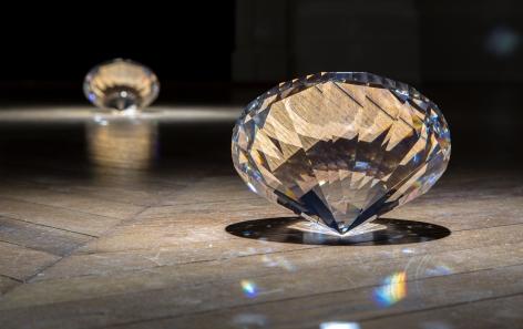 JAMES LEE BYARS, The Diamond Floor, London, 2015, Installation Image 12