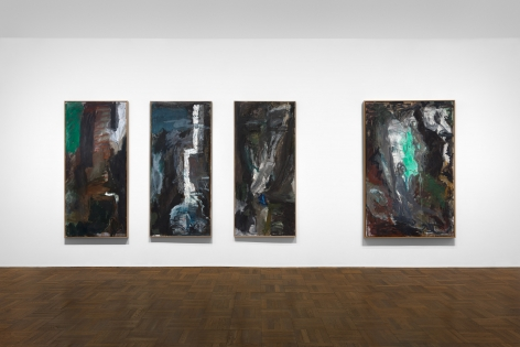 PER KIRKEBY, Paintings and Bronzes from the 1980s, New York, 2018, Installation Image 6