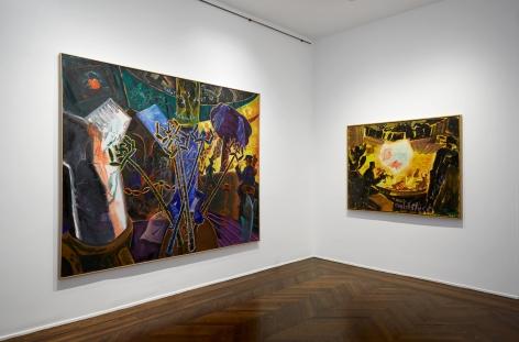 Jörg Immendorff, Café Deutschland, New York, 2014, Installation Image 8