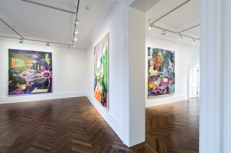 Michael Williams, Morning Zoo, London, 2014-2015, Installation Image 4