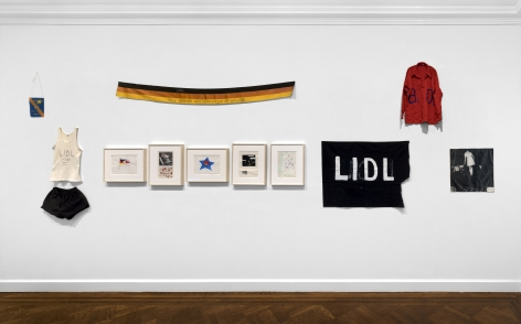 Jörg Immendorf, LIDL Works and Performances from the 60s, New York, 2017, Installation Image 20