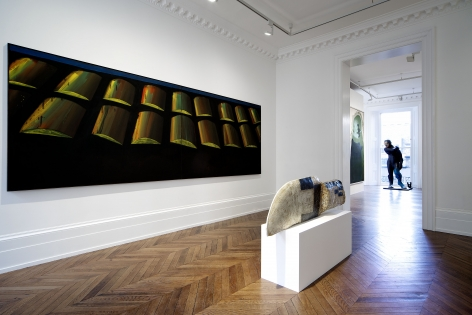 Markus Lüpertz, Players Ball, London, 2014, Installation Image 3