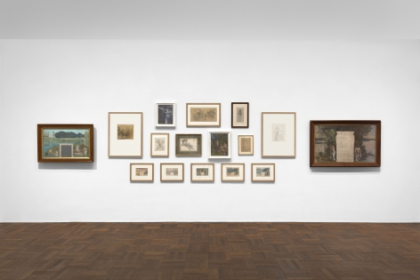 PIERRE PUVIS DE CHAVANNES, Works on Paper and Paintings, New York, 2018, Installation Image 2