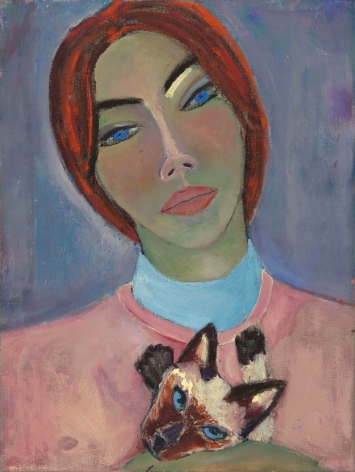 "Simone Kennedy Doig, ""Cat Girl"", 2021"