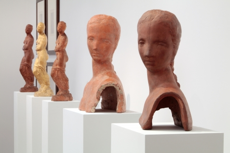 WILHELM LEHMBRUCK, Sculptures and Etchings, New York, 2012, Installation Image 10