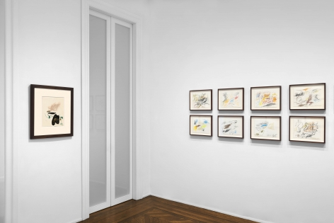 Don Van Vliet, Works on Paper, New York, 2017, Installation Image 13