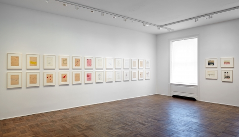 Sigmar Polke, Early Works on Paper, New York, 2014, Installation Image 4