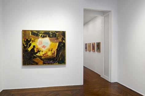 Jörg Immendorff, Café Deutschland, New York, 2014, Installation Image 9