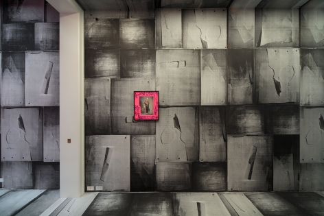 Aaron Curry, Buzz Kill, New York, 2012, Installation Image 14