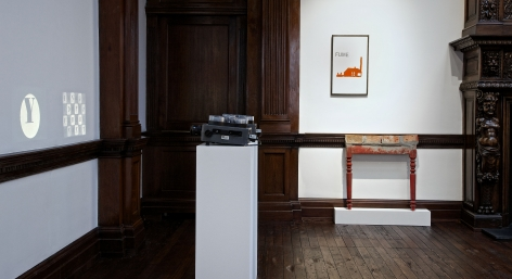 MARCEL BROODTHAERS Décor: A Conquest and Bricks: 1966-1975 21 November 2013 through 18 January 2014 MAYFAIR, LONDON, Installation View 18