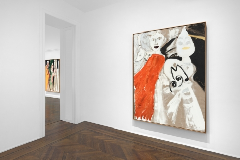 Don Van Vliet, Parapliers the Willow Dipped, Paintings 1967-1997, New York, 2020, Installation Image 12