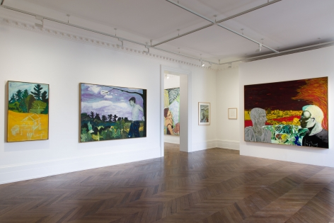 Peter Doig, Early Works, London, 2014, Installation Image 7