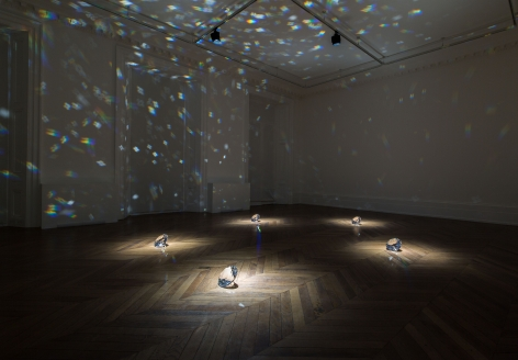 JAMES LEE BYARS, The Diamond Floor, London, 2015, Installation Image 6