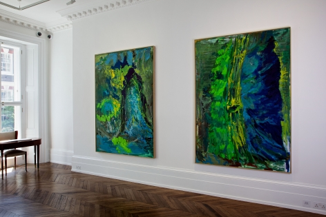 PER KIRKEBY Recent Paintings 5 June through 27 July 2013 MAYFAIR, LONDON, Installation View 5