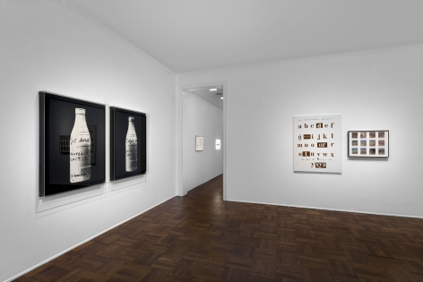 MARCEL BROODTHAERS Écriture 28 January through 26 March 2016 UPPER EAST SIDE, NEW YORK, Installation View 9