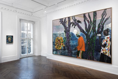 Peter Doig, London, 2017-2018, Installation Image 1