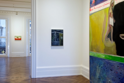 PETER DOIG, New Paintings, London, 2012, Installation Image 10