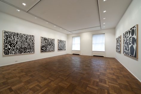 A.R. Penck, New System Paintings, 2009, Michael Werner New York Image 2