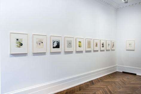 Sigmar Polke, Early Works on Paper, London, 2015, Installation Image 11