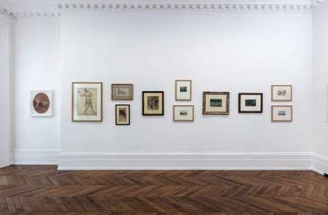 PIERRE PUVIS DE CHAVANNES, Works on Paper and Paintings, London, 2018, Installation Image 2