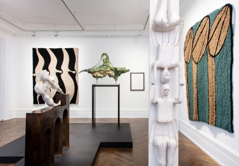 Enrico David, London, 2017, Installation Image 5