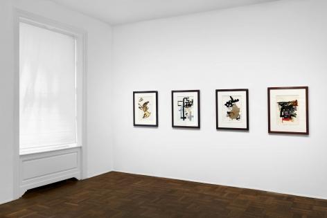 Don Van Vliet, Works on Paper, New York, 2017, Installation Image 5