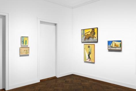 Peter Doig, New York, 2017, Installation Image 14