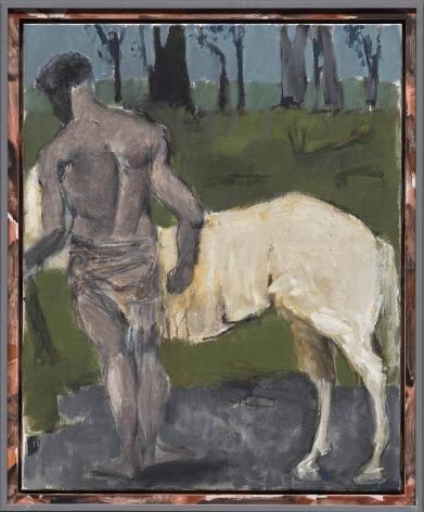 """Markus Lüpertz """"Weißes Pferd (White Horse)"""", 2017"""