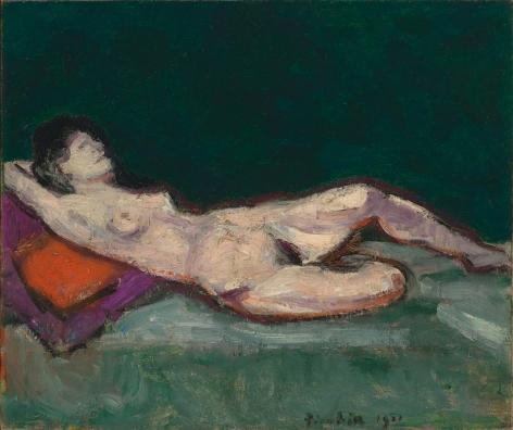 """Francis Picabia """"Nu allongé"""", 1911"""