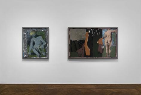 Markus Lüpertz, New Paintings, New York, 2017, Installation Image 10