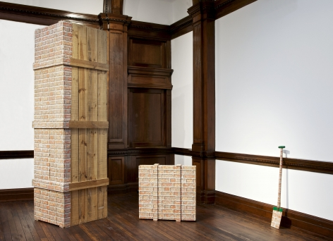 MARCEL BROODTHAERS Décor: A Conquest and Bricks: 1966-1975 21 November 2013 through 18 January 2014 MAYFAIR, LONDON, Installation View 17