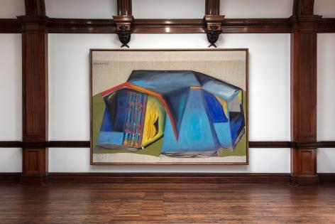 MARKUS LÜPERTZ, Tent Paintings, 1965, London, 2018, Installation Image 7