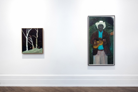 Peter Doig, London, 2017-2018, Installation Image 4