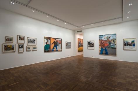 JÖRG IMMENDORFF, Maoist Paintings - The Early Seventies, 2009, Michael Werner New York Image 4