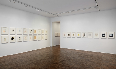 Sigmar Polke, Early Works on Paper, New York, 2014, Installation Image 9