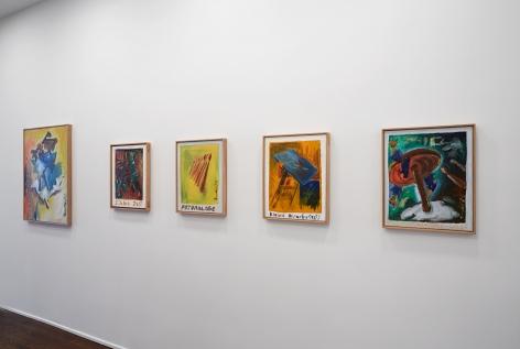 Jörg Immendorff, Café Deutschland, New York, 2014, Installation Image 6
