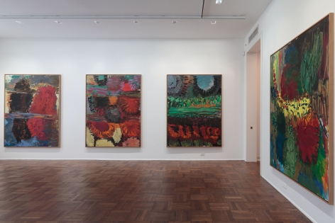 Per Kirkeby, New Paintings, New York, 2011, Installation Image 5