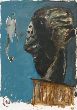 """""""Untitled (Selbstbildnis) Untitled (Self Portrait)"""", 1987"""